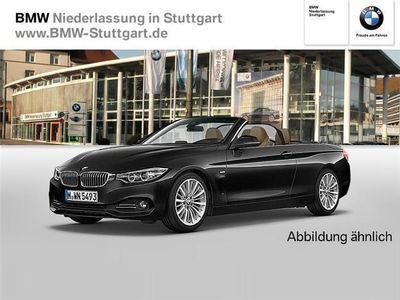 gebraucht BMW 420 d Cabrio Luxury Line Navi Speed Limit Info