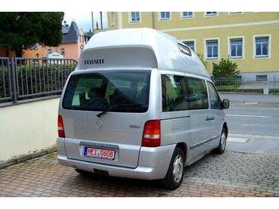 verkauft mercedes vito 114 camper hoch gebraucht 1999 km in coswig. Black Bedroom Furniture Sets. Home Design Ideas