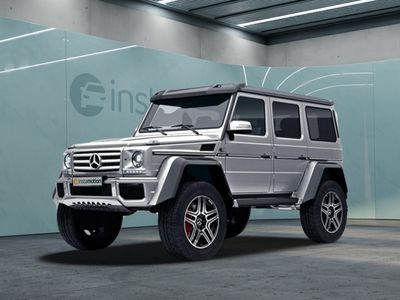 gebraucht Mercedes G500 4x4² G 500 designo Collectors Car!