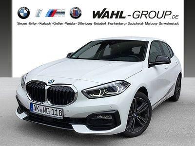 gebraucht BMW 118 d Sport Line HiFi DAB LED WLAN Tempomat Shz