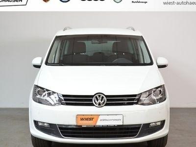 gebraucht VW Sharan 2.0 TDI Comfortline DSG, BiXenon, Navi (Xenon Klim