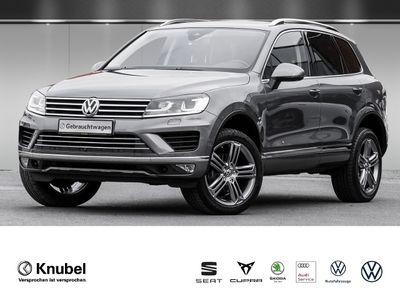 "gebraucht VW Touareg V6 TDI Navi Luftf. Xenon ACC Leder AreaView Pano Side 20"" AHK"