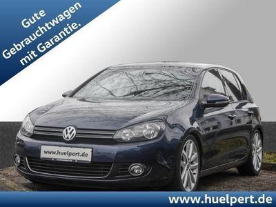 gebraucht VW Golf VI 1.4 Highline DSG Sportpaket SD ALU18 SHZ