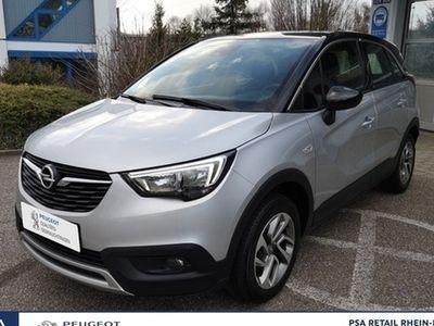 gebraucht Opel Crossland X Design Line 1.2 110 S/S*Navi*EPH*Klimaaut.*ALU16