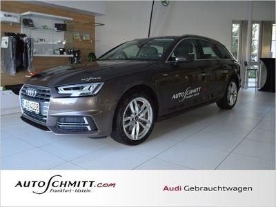 gebraucht Audi A4 Avant 2.0 TDI S tronic Design S Line Navi (Xenon K