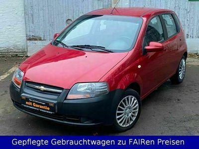 gebraucht Chevrolet Aveo 1.4 LT+Klima+5 Türen+ZV+el. FH+1 Hand als Kleinwagen in Lübeck