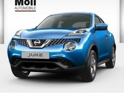 gebraucht Nissan Juke 1.6 Visia 112PS 2WD Klimaanlage 16' Felgen
