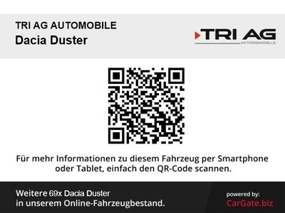 gebraucht Dacia Duster Laureate 4x2 1.5 dCi 110 FAP Klima CD MP3 ESP DPF Spieg. beheizbar Seitenairb.