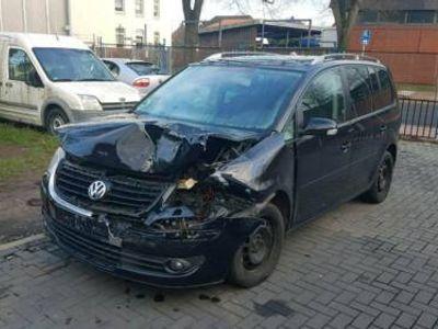 gebraucht VW Touran 2,0Tdi Unfall