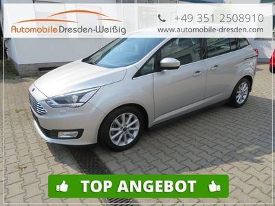 gebraucht Ford Grand C-Max 1.5 EcoBoost Titanium*7Sitze*Navi*Xenon*
