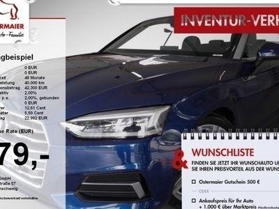 gebraucht Audi A5 Cabriolet SPORT 2.0TFSI S-TRONIC LED.NAVI+VC. M