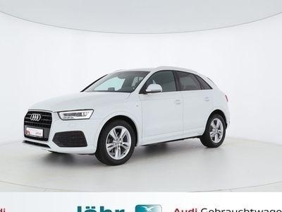 gebraucht Audi Q3 S line 2.0 TDI sport *Navi*LED*SitzH*
