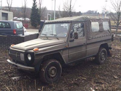 gebraucht Mercedes G230 Puch 230 GE 4x4 Militär-Fahrzeug mit Automatik