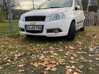 gebraucht Chevrolet Aveo Verkaufeals Kleinwagen in Söhrewald