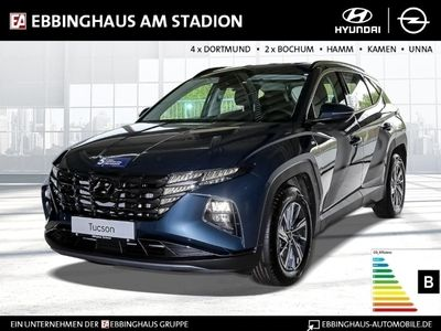 gebraucht Hyundai Tucson Select Mild-Hybrid 2WD 1.6 T-GDI EU6d LED Navi Rückfahrkam. Fernlichtass. LED-Tagfahrlicht