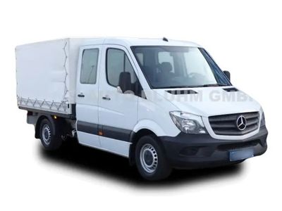 gebraucht Mercedes Sprinter 314 CDI DOKA PLANE NAVI KLIMA STANDHZ