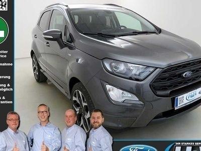 gebraucht Ford Ecosport 1.0 EcoB ST-LINE (Kamera,Navi,Tempomat)