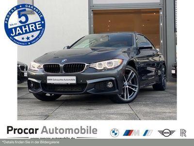 gebraucht BMW 435 d xDrive Coupe Navi M Sport HuD AHK H/K Shz