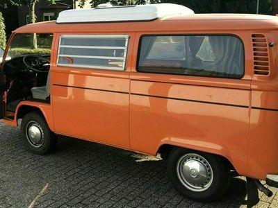 gebraucht VW T2 Bulli Camping von 1973, guter Zustand