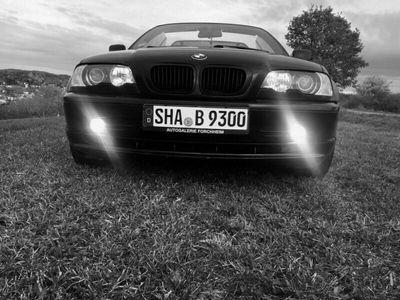 gebraucht BMW 318 Cabrio e46.