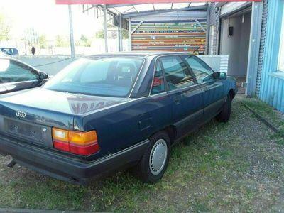 gebraucht Audi 100 blau 4 Zylinder als in Ahrensburg