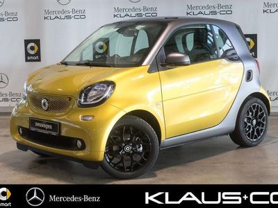gebraucht Smart ForTwo Coupé 66 kW turbo twinamic Sportpaket+passion