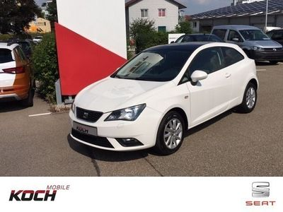 gebraucht Seat Ibiza SC Edition 30 1.4 Navigation/Climatronic/Sitzheizu