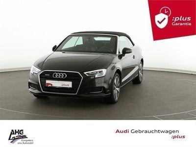 gebraucht Audi A3 Cabriolet 2.0 TDI quattro S tronic Design Xenon Navi
