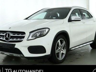 gebraucht Mercedes GLA180 AMG Line LED+NAVI+DAB+PANO+SPURPAKET+GRA
