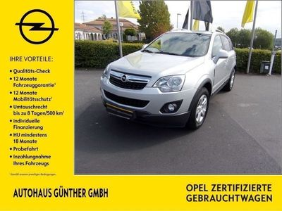gebraucht Opel Antara Design Edition 2.2 CDTI SITZH KLIMA AHK
