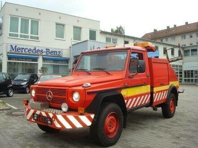 gebraucht Mercedes G290 Dreiseitenkipper, LKW Zulassung
