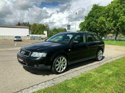 gebraucht Audi A4 1.8 T Avant Schiebedach Klima Navi S-Line