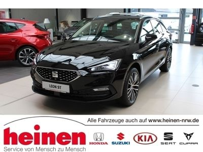gebraucht Seat Leon Sportstourer Xcellence 2.0 TDI DSG AHK LED 18Zoll