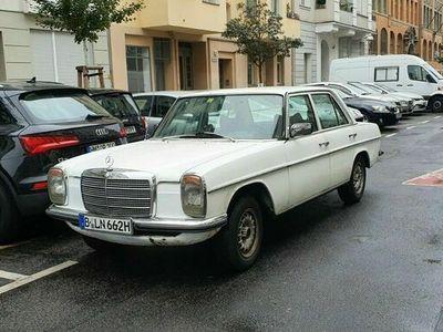 gebraucht Mercedes W114 W115200 /8 TÜV&H Schalter Strich 8