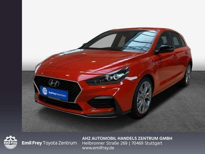 gebraucht Hyundai i30 1.4 T-GDI DCT Fastback N-Line / NAVI / LED
