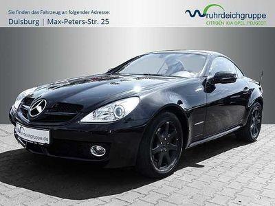 gebraucht Mercedes SLK200 Roadster Kompressor K +Leder+BT+Sitzhzg+