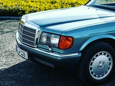 gebraucht Mercedes 420 Klima Beryll Metallic Scheckheft