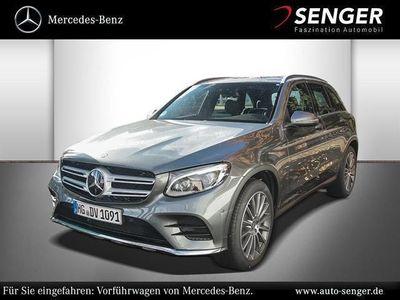 gebraucht Mercedes GLC250 d 4MATIC Off-Roader AMG line 360Kam Park-Assist Pa