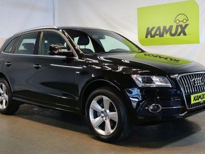 gebraucht Audi Q5 2.0 TDI quattro S-tronic S line Selection +Navi +Leder +19'' Alus
