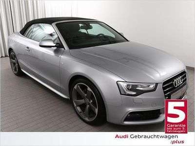 gebraucht Audi A5 Cabriolet 2.0 TDI S-LINE (Navi Xenon Leder)