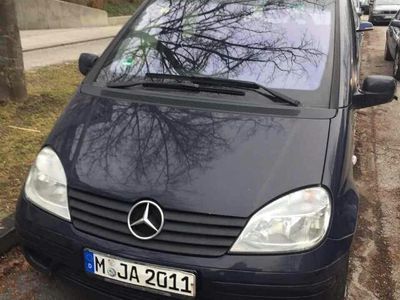 gebraucht Mercedes Vaneo 1.6 Family