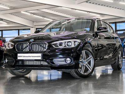 gebraucht BMW 116 1er d Sport Line