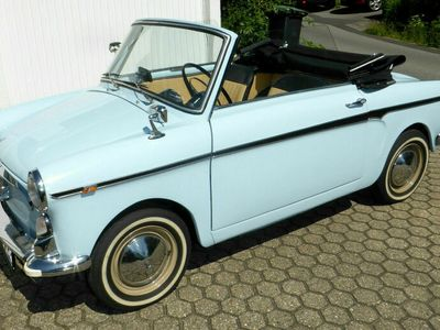 gebraucht Autobianchi Bianchina Cabrio 1963 hellblau
