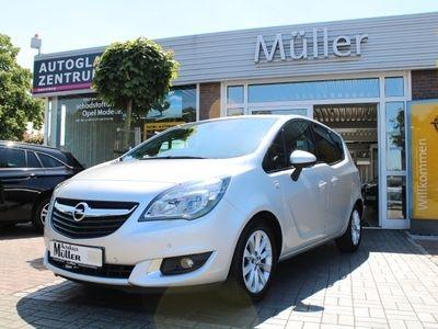 gebraucht Opel Meriva 1.4 Active SITZ + LENKRADHZG ALLWETTER PDC