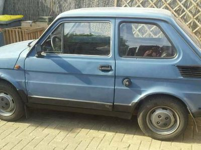 gebraucht Fiat 126 P mit deutschen papieren