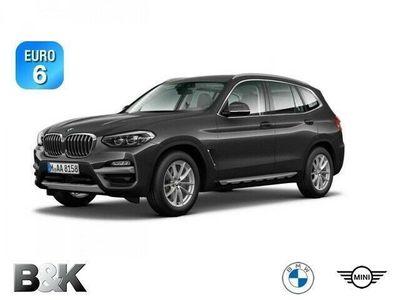 gebraucht BMW X3 xDrive20d ZA Bluetooth HUD Navi LED Klima PDC