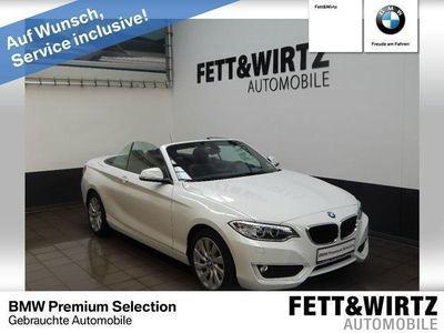 gebraucht BMW 220 d Cabrio Advantage Aut. Navi Business Klimaau