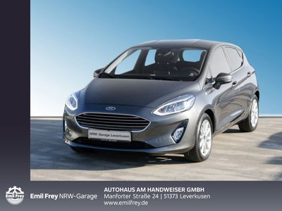 gebraucht Ford Fiesta 1.0 EcoBoost S&S TITANIUM, Navi, Park-Assistent, Winter-Paket