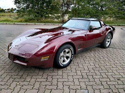 gebraucht Corvette C3 Automatik 1981 H Kennzeichen Original Motor als Cabrio/Roadster in Berlin