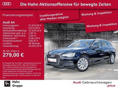 gebraucht Audi A4 Avant 2.0TDI design qu.S-trcEU6 Xen CAM Sitzh